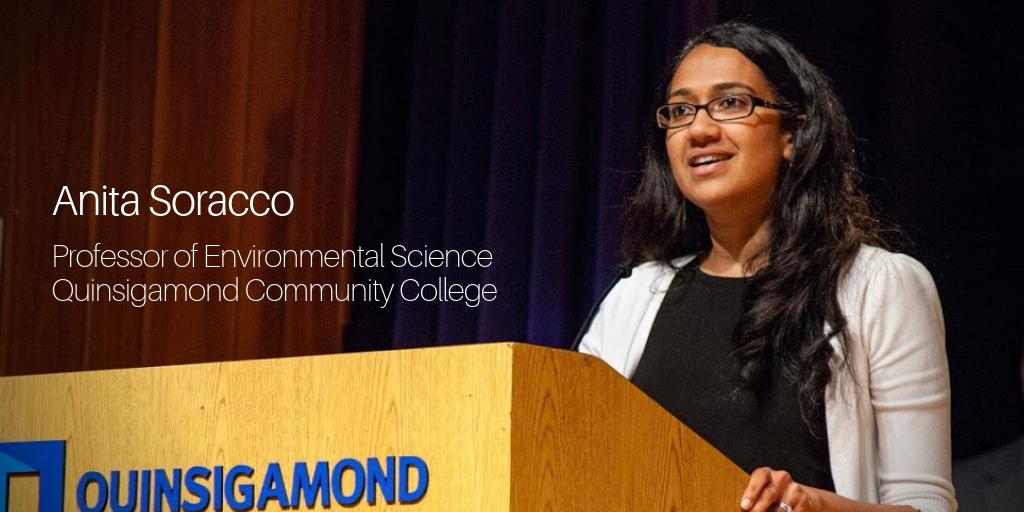 Anita Soracco, Prof Envt Science, QCC