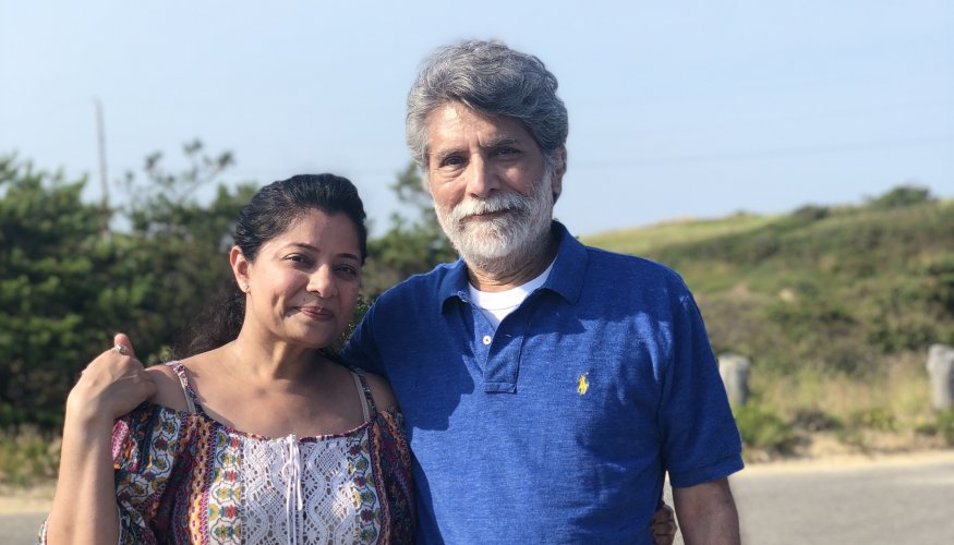 Hirul and Dilip Patel